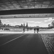 unter der Carolabrücke, Dresden