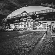 Bahnbrücken am Bischofsplatz, Dresden