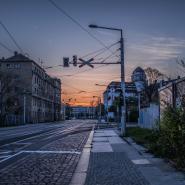 Abendsonne, Dresden Friedrichstadt