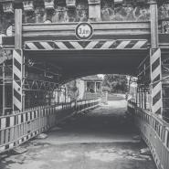 Baustellendurchfahrt Albertbrücke, Dresden