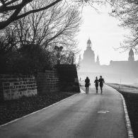Frauenkirche Dresden morgens