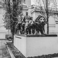 Arthur Strasser statue by Mark Anton Group Wien