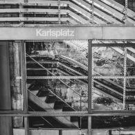 U-Bahn Haltestelle Karlsplatz Wien