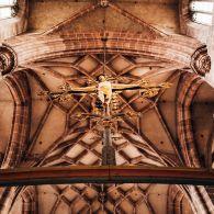 Nürnberg St. Lorenz Jesus am Kreuz
