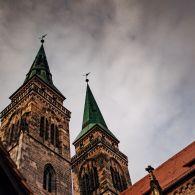 Nürnberg Sankt Sebaldus Kirche außen
