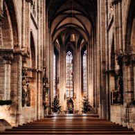 Nürnberg Sankt Sebaldus Kirche Kirchenschiff
