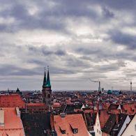 Blick von der Kaiserburg Nürnberg