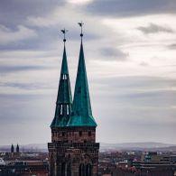 Nürnberg Sankt Sebaldus Kirche Kirchturm