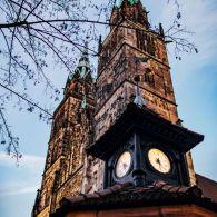 Nürnberg Wetterhäuschen Lorenzkirche