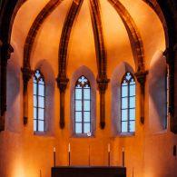 Nürnberg St. Klarakirche Altarraum
