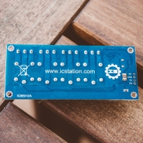 USB-Relay module ICSE012A back